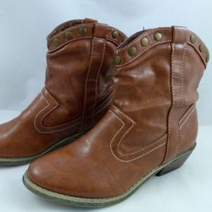 Rampage 6.5 Ankle Boots Booties Western Cowboy